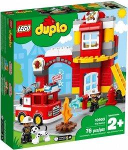 LEGO Klocki DUPLO Remiza strażacka