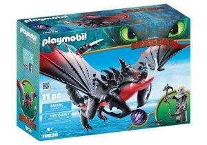 Playmobil Figurki Jak wytresować smoka - Śmierciozur i Grimmel