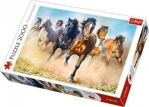 Trefl Puzzle 2000 elementów Galopujące stado koni