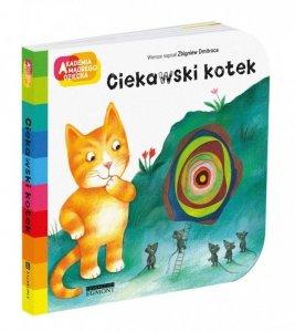 Egmont Książeczka Akademia mądrego dziecka - Ciekawski kotek