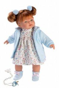 Lalka płacząca Lea niebieska 33108 33 cm