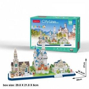 Cubicfun Puzzle 3D City Line Bawaria