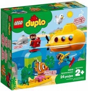 LEGO Klocki DUPLO Przygoda w łodzi podwodnej