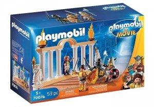 Playmobil Zestaw fiurek The Movie Cesarz Maximus w Koloseum