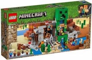 LEGO Klocki Minecraft Kopalnia Creeperow