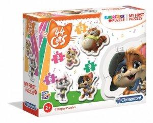 Clementoni Puzzle Moje pierwsze puzzle 44 koty