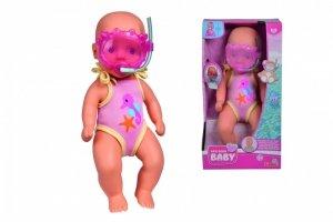 Lalka Bobas do kąpieli New Born Baby 30 cm