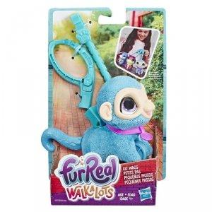 Hasbro Maskotka furReal Friends Małe zwierzaki na smyczy, Małpka