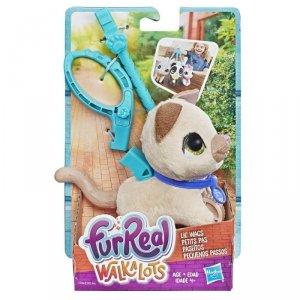 Hasbro Maskotka furReal Friends Małe zwierzaki na smyczy, Kot A