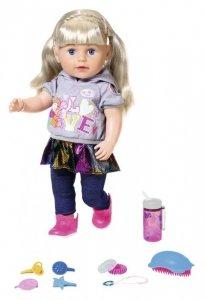 Lalka interaktywna siostrzyczka (blondynka)