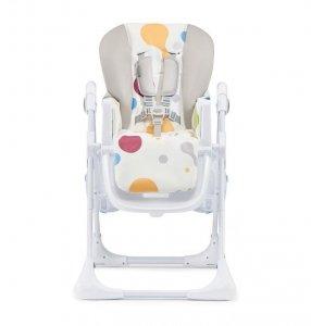 Kinderkraft Krzesełko Yummy do karmienia + tacka multicolor