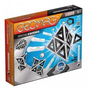 Geomag Klocki magnetyczne SPECIAL EDITION CZARNY BIAŁY 60 elementów
