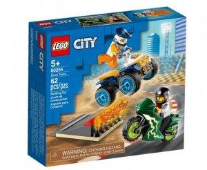 LEGO Klocki City Ekipa kaskaderów