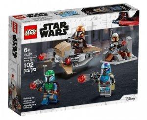 LEGO Klocki Star Wars 75267 Zestaw bojowy Mandalorianina