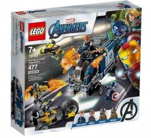 Klocki Super Heroes Avengers Zatrzymanie ciężarówki
