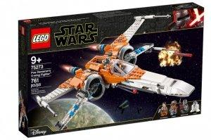 Klocki Star Wars Myśliwiec X-Wing Poe Damerona