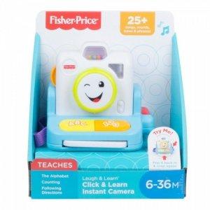 Fisher Price Zabawka edukacyjna Wesoły aparat fotograficzny