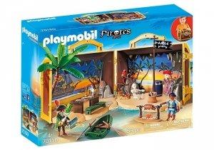 Playmobil Zestaw figurek Przenośna wyspa piracka