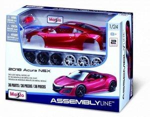 Maisto Model metalowy Acura NSX 2018 1:24 do składania