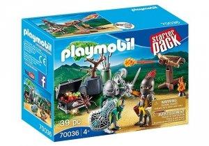 Playmobil Zestaw figurek Starter Pack Bitwa rycerzy o skarb