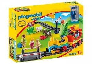 Playmobil Figurki123 Moja pierwsza kolejka