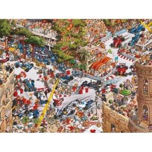 Heye Puzzle 1500 elementów Formuła I w Monaco