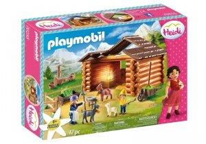 Playmobil Zestaw figurek Heidi Zagroda dla kóz Piotrka