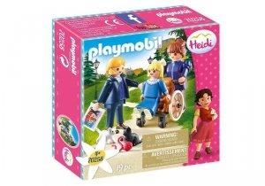 Playmobil Zestaw figurek Heidi Klara z tata i panna Rottenmeier