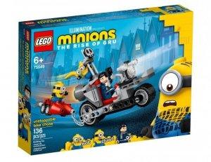 LEGO Klocki Minions Niepowstrzymany motocykl ucieka