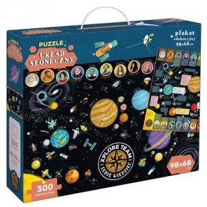 Puzzle 300 elementów Układ słoneczny Xplore Team