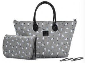 Kinderkraft Torba do wózka Moommy Bag Grey