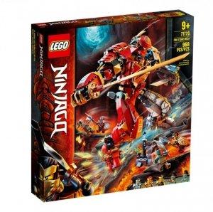 LEGO Klocki Ninjago Mech z ognia i kamienia