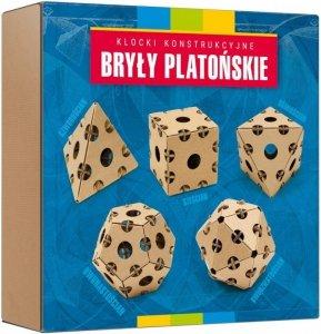 Egmont Kartonowe klocki konstrukcyjne Bryły Platońskie Cardblocks