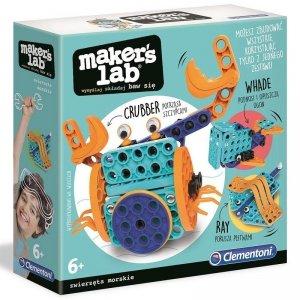Clementoni Zestaw kreatywny Makers Lab Zwierzęta Morskie