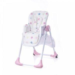 Krzesełko do karmienia Kiki Pink