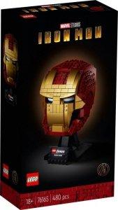 LEGO Klocki Super Heroes Hełm Iron Mana 76165