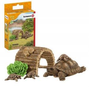 Schleich Figurki Dom dla żółwi