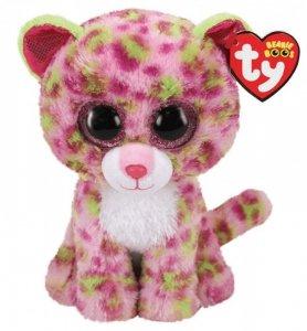 Meteor Maskotka TY Beanie Boos różowy leopard 15 cm