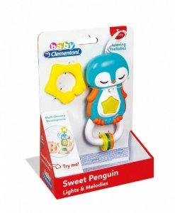 Clementoni Interaktywna Grzechotka Pingwin