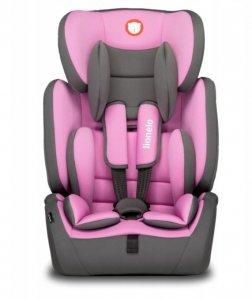 Fotelik samochodowy 9-36 kg LEVI Simple CANDY różowy