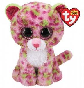 Meteor Maskotka TY Beanie Boos Różowy Leopard Lainey