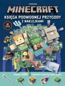 Egmont Książeczka Minecraft Księga podwodnej przygody z naklejkami