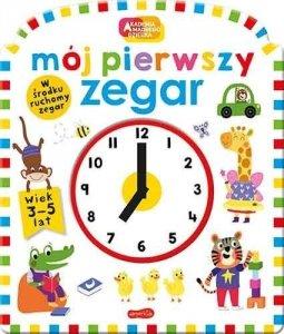 Egmont Książeczka Mój pierwszy zegar. Akademia mądrego dziecka