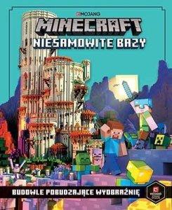 Egmont Książeczka Minecraft Niesamowite bazy