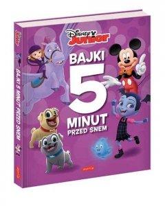 Egmont Książka Bajki 5 minut przed snem. Disney Junior