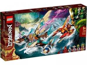 LEGO Klocki Ninjago 71748 Morska bitwa katamaranów
