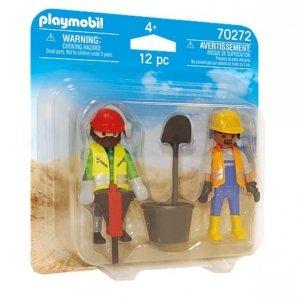 Playmobil Figurki Duo Pack 70272 Robotnicy budowlani