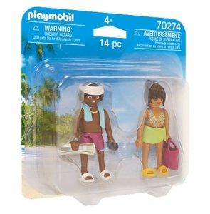 Playmobil Figurki Duo Pack 70274 Urlopowicze