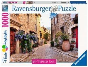 Ravensburger Polska Puzzle 1000 elementów Śródziemnomorska Francja