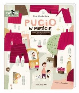 Nasza księgarnia Książka Pucio w Mieście. Zabawy jezykowe dla młodszych i starszych dzieci